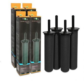 Filterlogic FL-296-8 Carbon Rod Water Filter For Springflow Astracast Filter Taps (4 Pack)