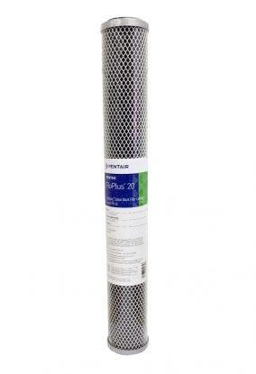 "Pentek FLOPLUS 20""  0.5 Micron Carbon Block Water Filter"