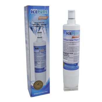 IcePure RFC0500A Compatible Whirlpool SBS002 4396508 Fridge Water Filter