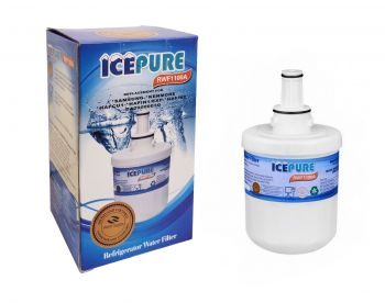 Icepure RWF1100A Fridge Water Filter Compatible with Samsung DA29-00003G HAFIN2/EXP