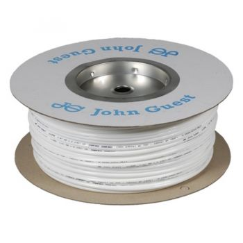 "John Guest 1/4"" LLDPE Tubing - 150M Coil - White"