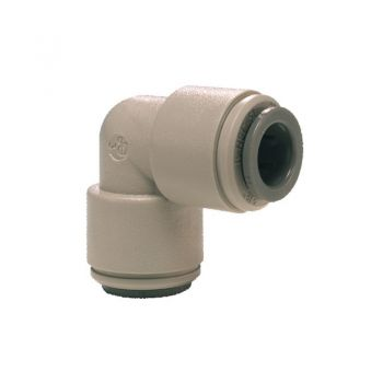 "Equal Elbow Connector ¦ 3/8"" Pushfit x 3/8"" Pushfit ¦ John Guest - PI0312S"