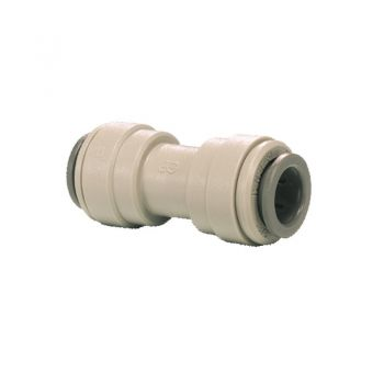"Equal Straight Connector ¦ 3/8"" Pushfit x 3/8"" Pushfit ¦ John Guest - PI0412S"