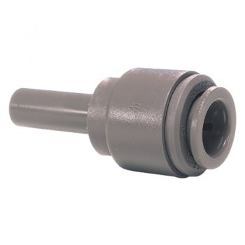 "Stem to Pushfit Enlarger Adaptor ¦ 5/16"" Stem x 3/8"" Pushfit ¦ John Guest - PI131012S"