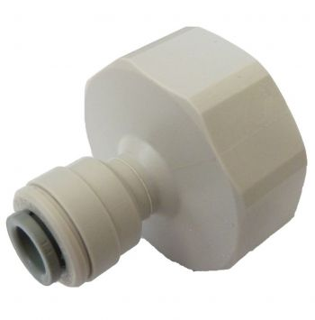 "John Guest CI320816FS ¦ 3/4"" BSP Female x 1/4"" Push Fit ¦ Tap Adaptor"