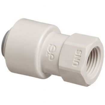 "John Guest CI3208U7S ¦ 1/4"" Push Fit x 7/16"" Female ¦ Universal Tap Adaptor"