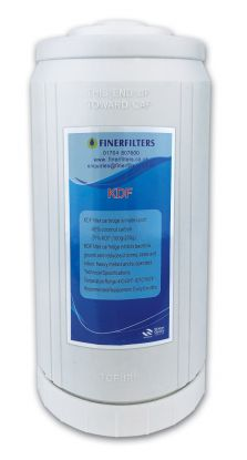 "Jumbo GAC/KDF Water Filter ¦ 10"" x 4.5"" ¦ Granular Activated Carbon & KDF Media"