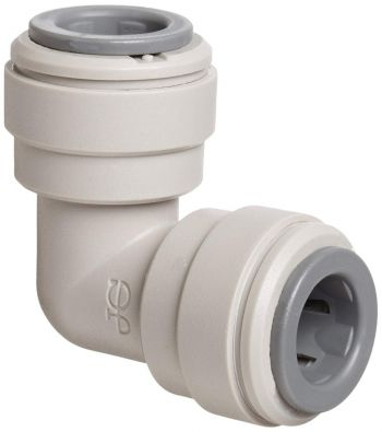 "John Guest PI0308S ¦ Equal Elbow 1/4"" Push Fit x 1/4"" Push Fit Pipe Connector ¦ john Guest Speed Fit"