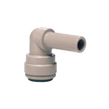 "John Guest PI221208S ¦ 1/4"" Push Fit x 3/8"" Stem Elbow"
