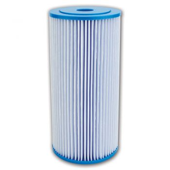 "Pleated Sediment Water Filter ¦ 10"" x 4.5"" - 5 Micron ¦ Washable Filter to Extend Lifespan, Fits 10"" Jumbo Big Blue Housings"