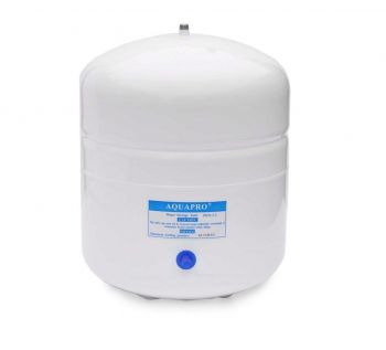 Finerfilters Stainless Steel Reverse Osmosis 6.5 Litre / 3.2 Gal Pressurised Storage Tank