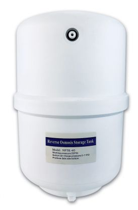 Finerfilters 10 Litre Pressurised Reverse Osmosis Storage Tank