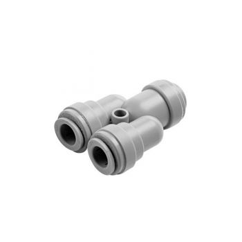 "DMFit ATWD0404 ¦ 1/4"" Two Way Divider Y Piece 1/4"" Equal Connector"