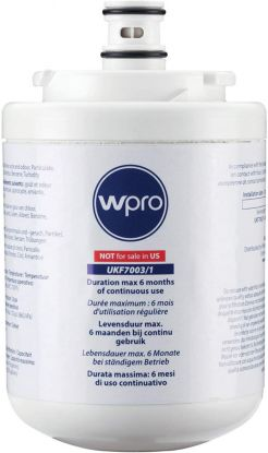 wPro UKF7003 Fridge Water Filter for Beko AP930, Maytag UKF7003, EDR7D1