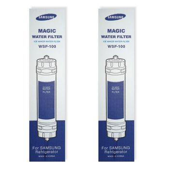Samsung WSF100 Magic Genuine Fridge Water Filter (2 Pack)