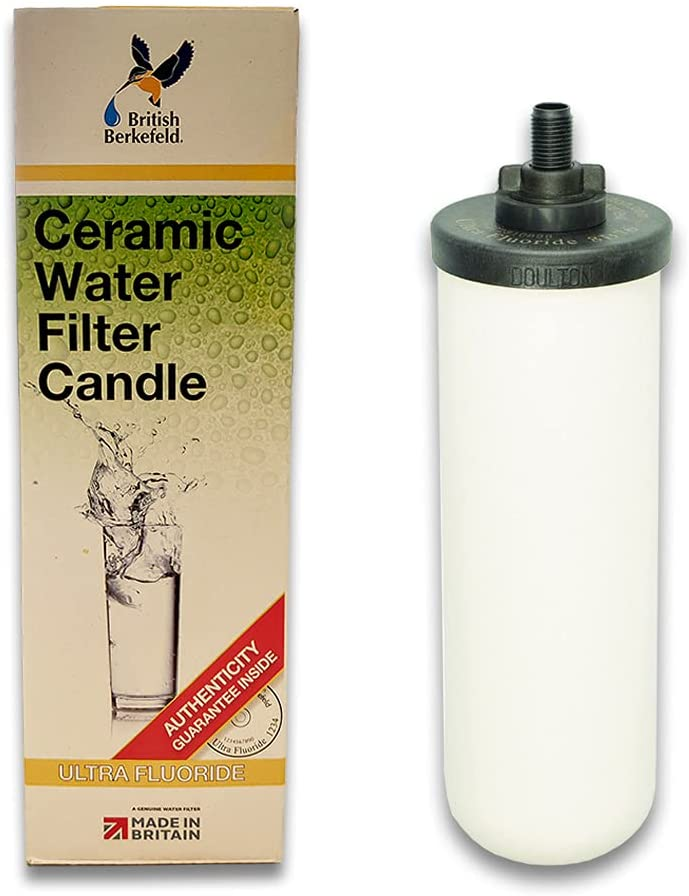 """Doulton 7"""" Ultra Fluoride Ceramic Water Filter Candle - W9120133"""
