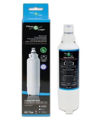 FilterLogic FFL-170P Fridge Water Filter Compatible with Panasonic CNRAH-257760 + CNRBH-125950 for Panasonic Fridge Freezer