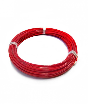 "DMFit 3/8"" LLDPE (Linear Low Density Polyethylene) Tubing-Red-10 Metres"