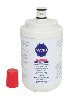 wPro UKF7003 Genuine Leisure HJA6100 Fridge Water Filter