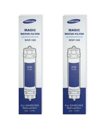 Samsung WSF100 Magic Genuine Fridge Water Filter (2 Pack)