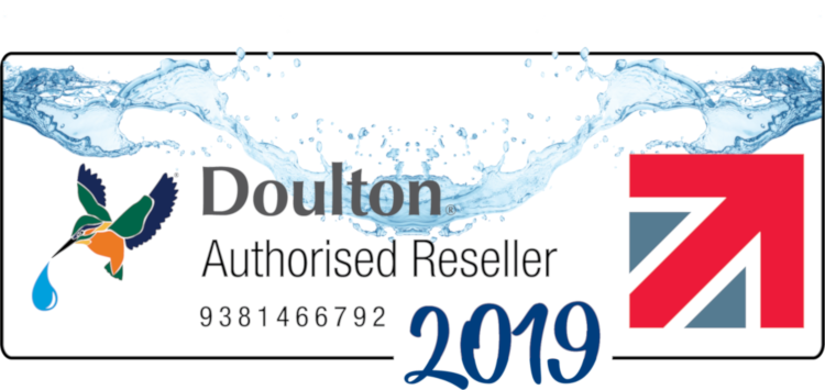 Doulton Authorised Reseller Badge