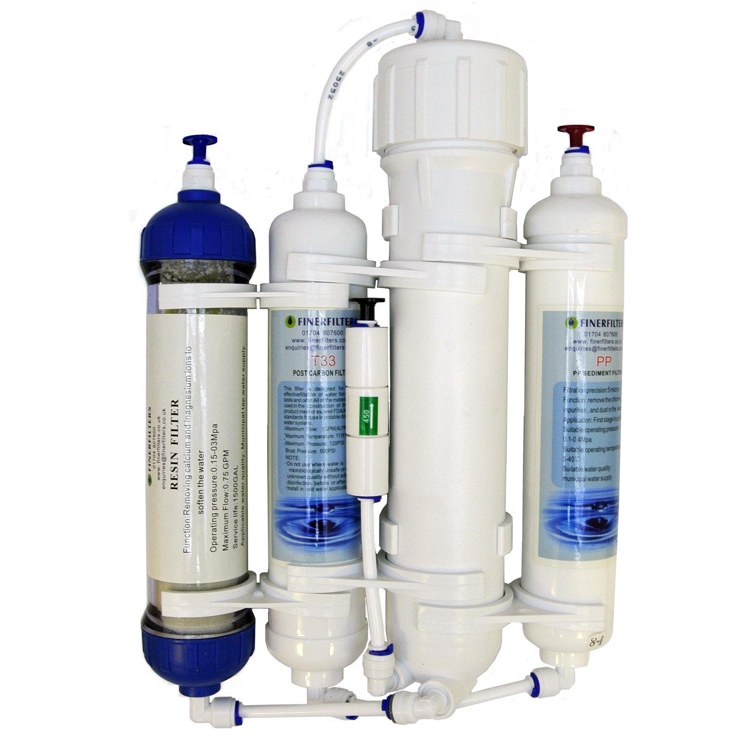 Finerfilters 4 Stage Aquarium Reverse Osmosis System